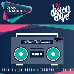 Digital Dave Live On The Kidd Kraddick Morning Show 12.7.18