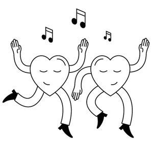 Dancing Hearts #1