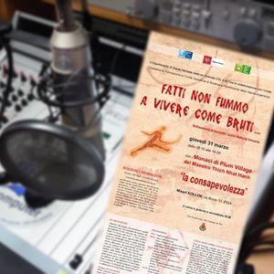 Altalena,settimanale di informazione psicologica - Plum Village a Pisa ; Genere e studio a Lucca