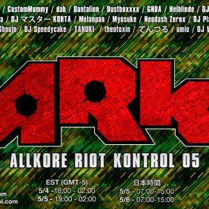 GHDA - Allkore Riot Kontrol 05 Set