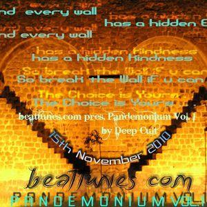 Deep Cult - Pandemonium Vol.1 on beattunes.com (15th Nov 2010)