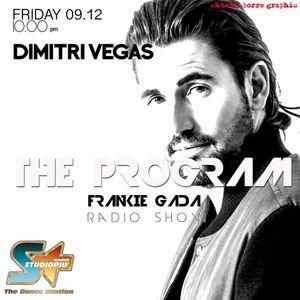 THE PROGRAM - FRANKIE GADA TALKSHOW  - Interview with TOP DJ  DIMITRI VEGAS