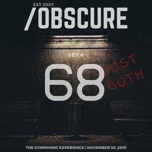 Obscure Set #68--- [Recorded Live @ TSE - November 30, 2019]