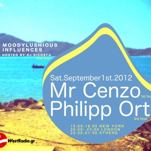 MoodyLushious Influences Episode 17 (September 2012 Edition) (Host Mix By Di Costa)