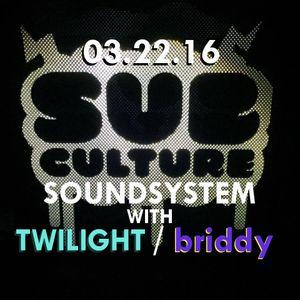 Sub-Culture Soundsystem Radio 019 (3.22.16)