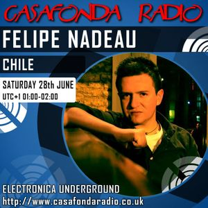 FELIPE NADEAU // CHILE // CHANNEL RECORDINGS & IELEKTRONIX SHOWCASE 28/06/2014 01:00