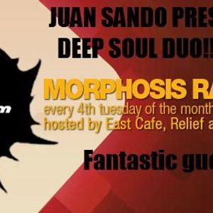 Juan Sando Pres Deep Soul Duo - Morphosis Radioshow Dec 2012