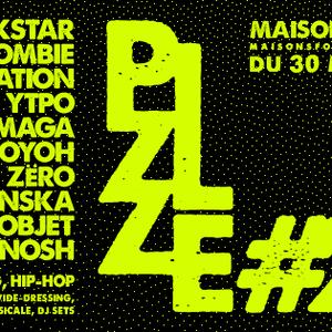 Playground, émission du 27 mars 2016 - spéciale PZZLE FESTIVAL #2