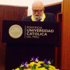 Discurso Krzysztof Penderecki al recibir Doctorado Honoris Causa de la PUCP en Lima