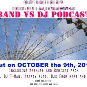 BANDvsDJ Podcast - October 2010