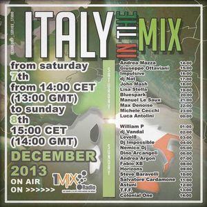 William P @ Italy in the mix (1mix Radio)