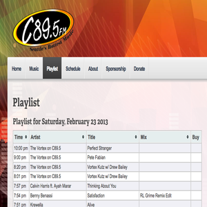 MIX FROM 2-23-13 on C89.5's the VORTEX