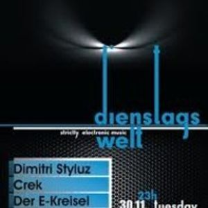 Dimitri Styluz @ Dienstagswelt pt. 2