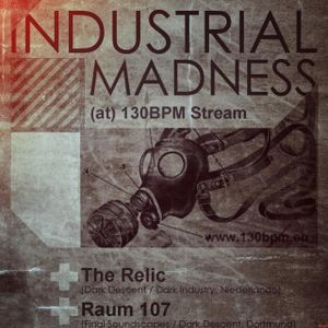 The Relic @ Industrial Madness at 130BPM Stream(30.09.2012)