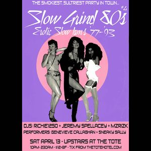 SLOW GRIND 80s MIX #4 by Richie1250 & Jeremy Spellacey (Crown Ruler)