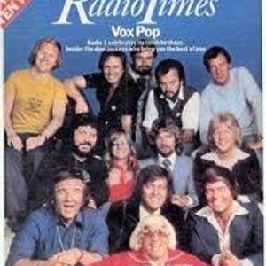 Noel Edmonds & Simon Bates 10th Anniversary of BBC Radio 1 30th September 1977 Part 1