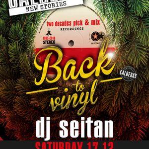 Back to Vinyl - Live dj set at Caldera bar on December 17th of 2016