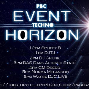Event Horizon Live Techno session by WayneDjc  01/10/16