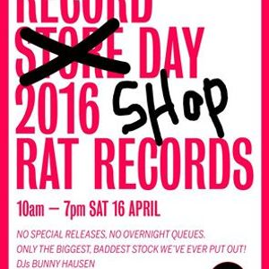 Rat Session # 38 : DJ Bunnyhausen. (record shop day mix).