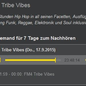 FM4 Tribe Vibes, Wien - 17.09.2015 - DJ BK Tape #54