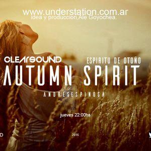 Live DJ Set emitido en www.understation.com.ar Dj Andres Espinosa @ Espiritu de Otoño 01 Lado 02