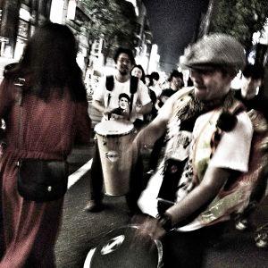 No nukes demonstration Tokyo June 7, 2012 edited short ver.