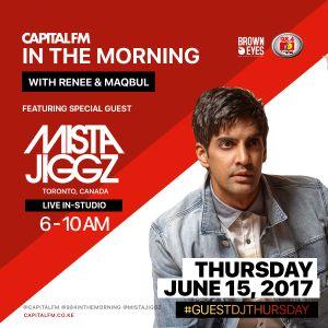 Mista Jiggz - Live on 98.4 CAPITAL FM (Nairobi, Kenya) In The Morning