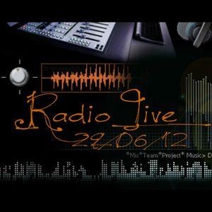 Radio Live 29/06/12