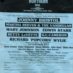 Great Yarmouth Northern Soul Weekender 20-10-1990 Part 2