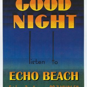 Echo Beach Radio Broadcast from Chicago, 05-24-13