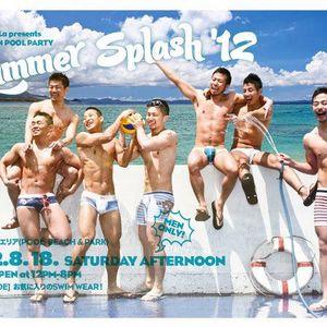 """Shangri-La presents AFTERNOON POOL PARTY """"SUMMER SPLASH '12"""" INFINITY POOL Rec"""