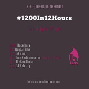#1200in12Hours DJ Mix:  TheCainMarko
