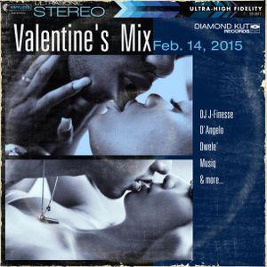 DJ J-Finesse Presents...Valentine's Day Mix 2015 (Bring On the Lovin'!!!)