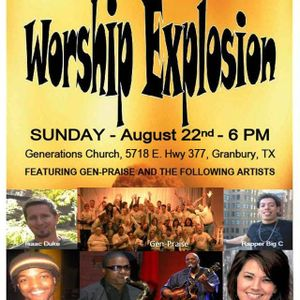 WORSHIP EXPLOSION