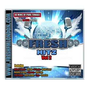 Fresh fm's R&B & HIP - HOP Mix Cd Vol 2
