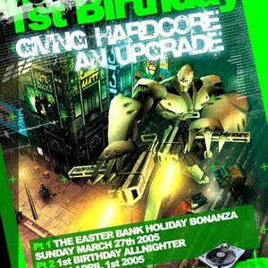 Lee UHF B2B Thumpa B2B Freestyle- Total Bedlam 1st Bday- April 2005