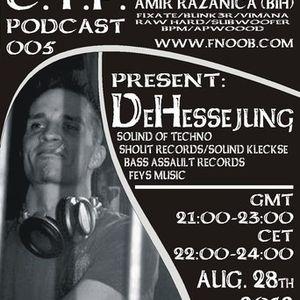 CTP podcast 005 Amir Razanica feat. De Hessejung