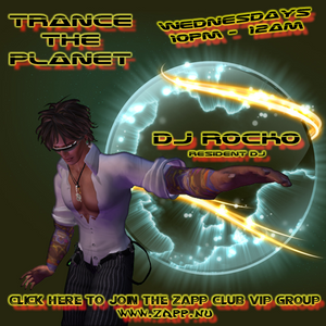 6/27/12 Trance The Planet 10-12am @ Zapp