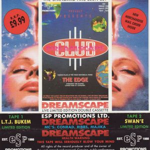 Ltj Bukem @ Club DreamScape 12th March 1993 ''New Tape Rip Crispy 320KBPS''