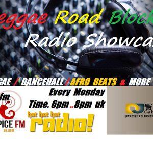 Reggae Road Block - Radio Showcase Spice Fm- 10th-02-2014