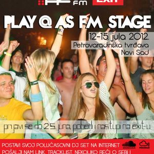 """Dj Freak - Mix for """"Play @ AS FM Stage"""" Exit Festival 2012"""