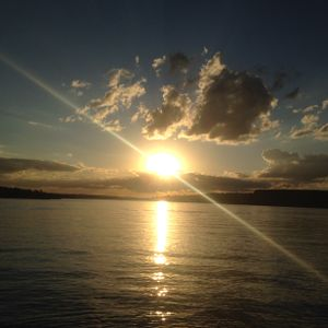 Sol na Barragem