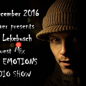 RAVE EMOTIONS RADIO SHOW (13RaVeR) - 14.12.2016. Cari Lekebusch Guest Mix @ RAVE EMOTIONS