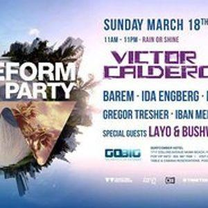 Layo & Bushwacka! - Live @ Waveform Pool Party, Surfcomber Hotel, WMC (18-03-2012)