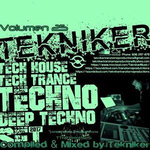 TTPCDmix525 Compiled & Mixed by Tekniker [2017] Volumen 25