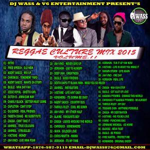 DJ WASS - REGGAE CULTURE MIX VOL 11 OCT 2015 by Dj wass   Mixcloud