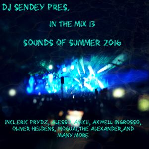 DJ Sendey Pres.In The Mix 13 Sounds of Summer 2016