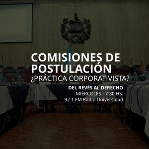 28 MAYO 2014 - Comisiones de postulación