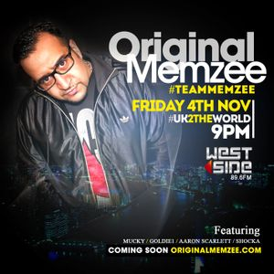 @ORIGINALMEMZEE TAKE OVER ON @Thisiswestside 89.6FM WITH @DJDAZVEGAS #THEWEEKENDWARMUP