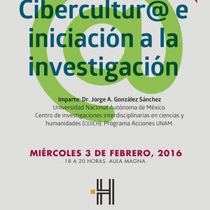 """""""Cibercultur@ e iniciación a la Investigación"""""""